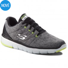 SKECHERS Flex Advantage 3.0 STALLY tmavosivé