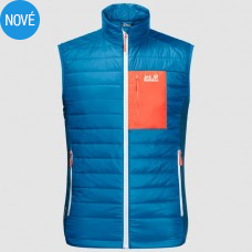 Pánska vesta  Jack Wolfskin ROUTEBURN blue/orange