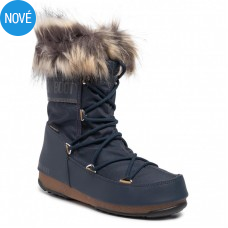 Snehule Moon Boot Monaco Low dark blue