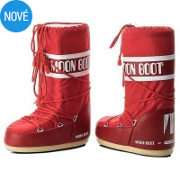 Snehule MOON BOOT red
