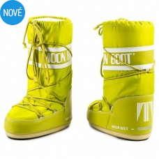 Snehule MOON BOOT lime